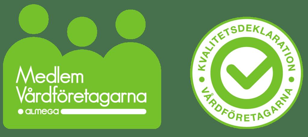 Vårdföretagarnas Logotype.