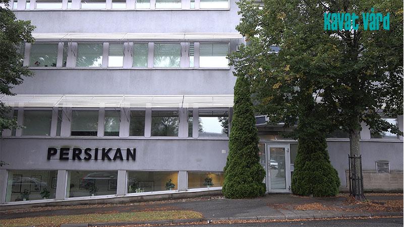 Kavat Vård äldreboende Persikan, Akalla Stockholm.