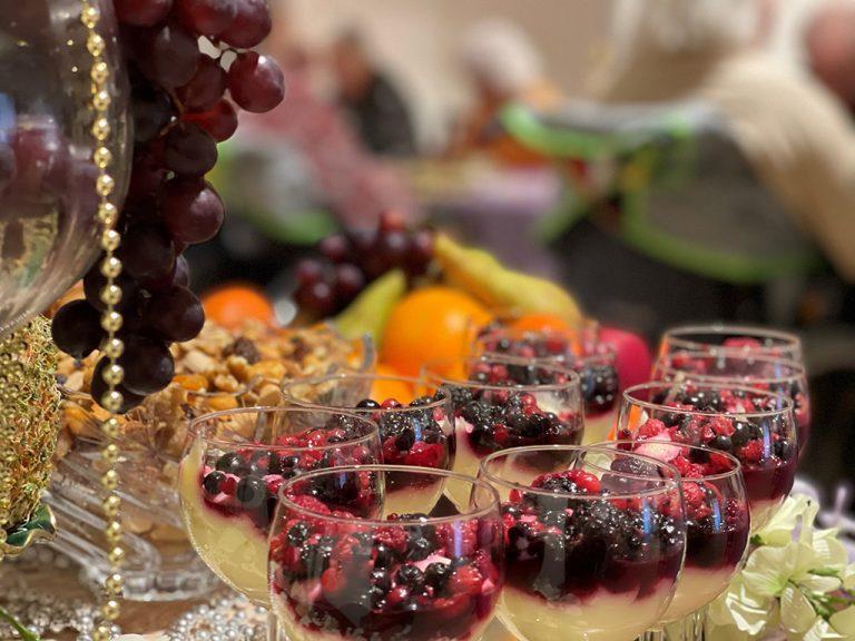 Nyår, Newroz, mat firande på Persikan & Bejtona.